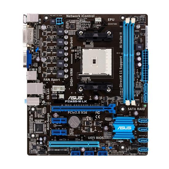 ASUS F2A55-M AMD A55 FCH (Hudson D2) uATX Motherboard - AMD socket
