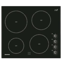 Hoover HVK64X Electric Ceramic Hob - Black Reviews