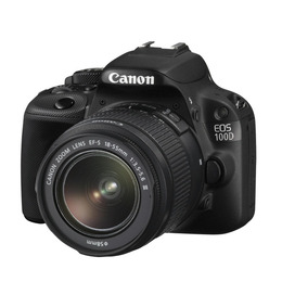 Canon EOS 100D Digital SLR Camera Black + EF-S 18-55MM IS STM Reviews