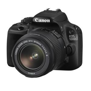 Photo of Canon EOS 100D Digital SLR Camera Black + EF-S 18-55MM IS STM Digital Camera
