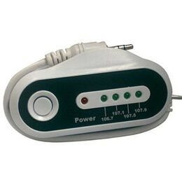 Compark Wireless FM Transmitter With car charger, 4 channels