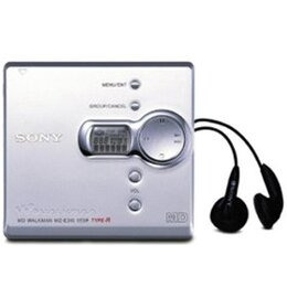 Sony MZE310S Mini Disc Player Silver