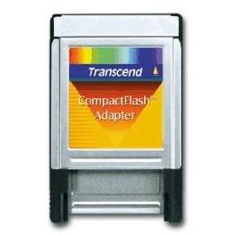 Transcend - Card adapter ( CF I ) - PC Card