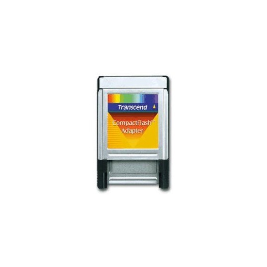 Transcend - Card adapter ( CF I ) - PC Card