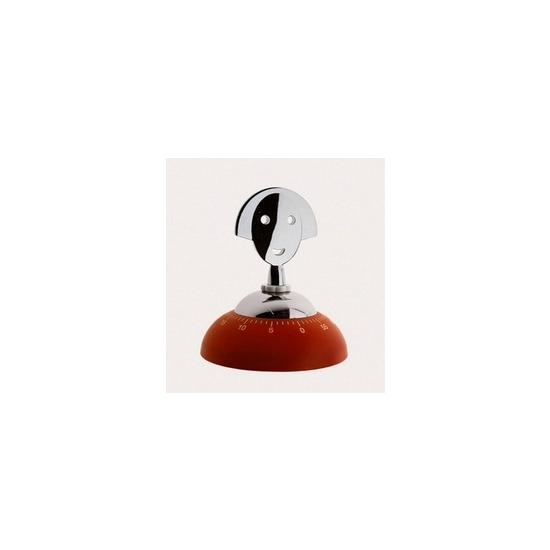 Alessi Anna Kitchen Timer in Red