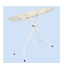 Brabantia Pebbles Ironing Board with Steel Iron Rest (124x38cm)