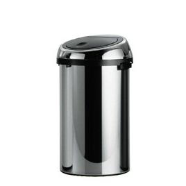 Brabantia 50 Litre Touch Bin in Brilliant Steel