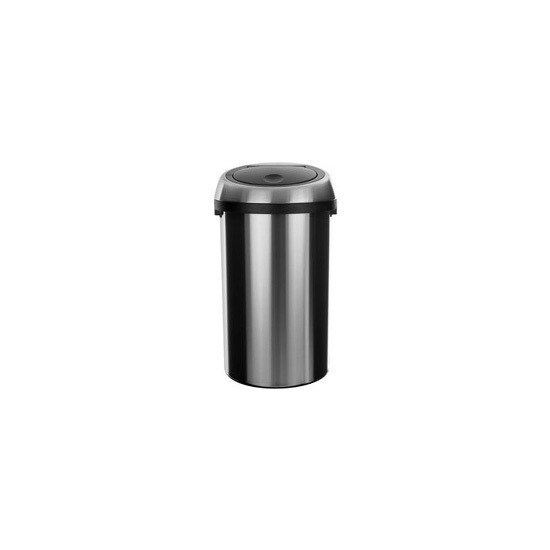 Brabantia 50 Litre Touch Bin in Matt Steel