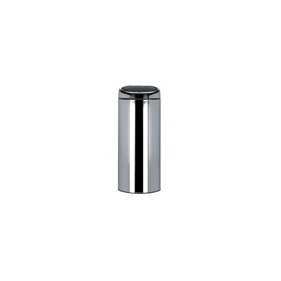 Brabantia 30 Litre Touch Bin in Brilliant Steel