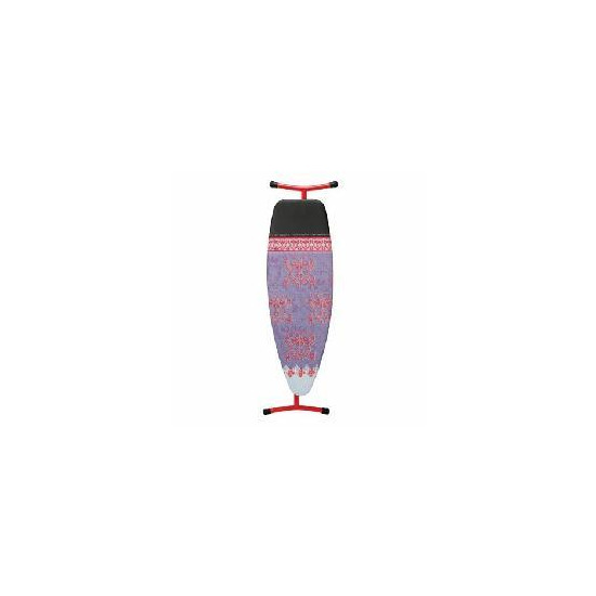 Brabantia Ironing Board 135x45cm in Red with Iron Parking Zone