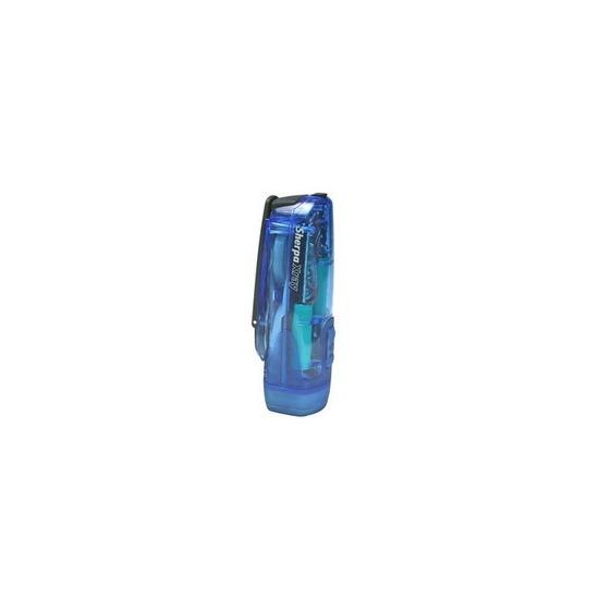 Freeplay X-Ray LED Wind-Up Torch in Clear Blue