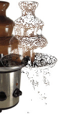 Prima Chocolate Fondue Fountain in Stainless Steel