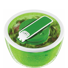 Zyliss Smart Touch Salad Spinner in Green