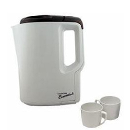 Lloytron E886 Travel Kettle with 2 mugs