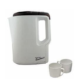 Lloytron E886 Travel Kettle with 2 mugs