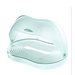 Guzzini Latina Bread Bin in Clear
