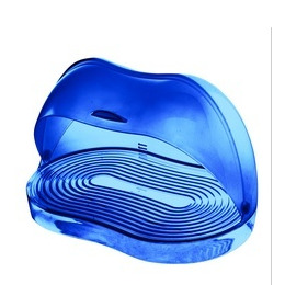 Guzzini Latina Bread Bin in Blue