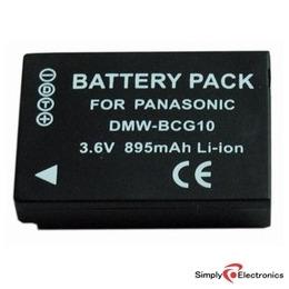 Replacement Battery for Panasonic DMC TZ7 / TZ6 Reviews