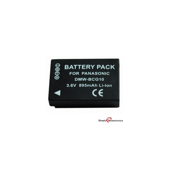 Replacement Battery for Panasonic DMC TZ7 / TZ6