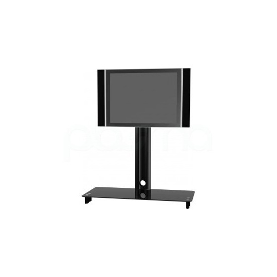 Elmob CY1544BK Black Cantilever TV Stand