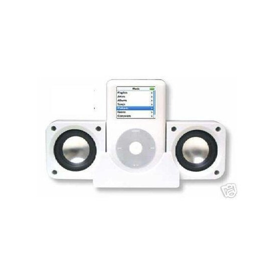 GZ- Foldable Mini Portable Speakers for iPod 20gb,30gb,40gb and 60gb