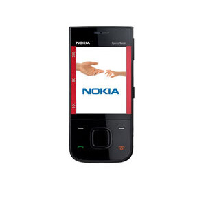 Photo of Nokia 5530 Black Red Mobile Phone