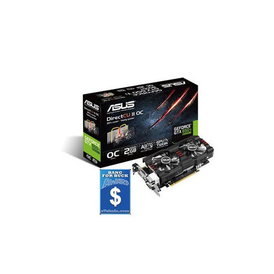 Asus GeForce GTX 650 GTX650TIB-DC2OC-2GD5