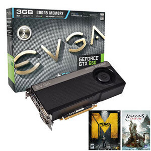 Photo of EVGA GTX-660 3GB Graphics Card