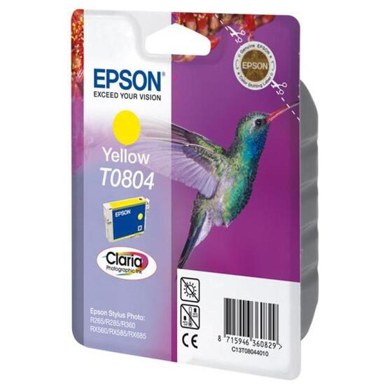 Epson 7 Ml Original Ink Cartridge For Epson Stylus Photo Rx585 Printer