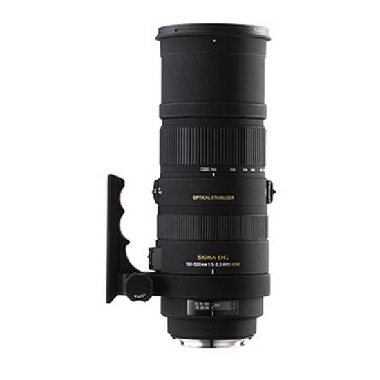 SIGMA 150-500mm f/5-6.3 DG OS HSM Zoom Lens - Canon fit