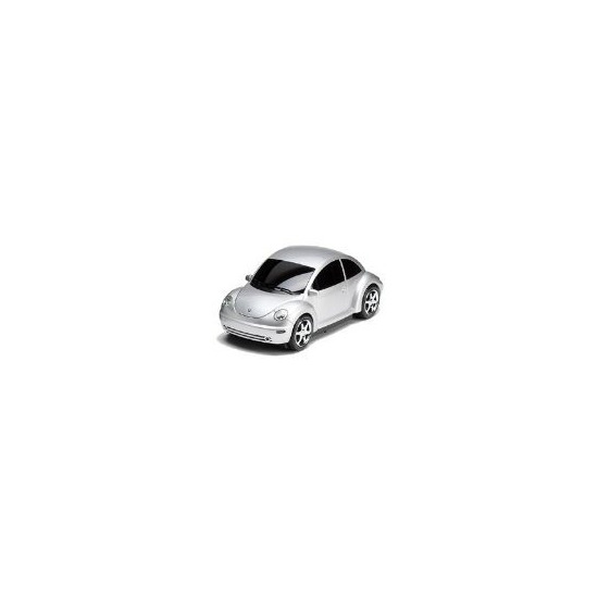 Car Shaped CD Player with FM Radio - Steepletone WD3A (silver colour) *Note: This is not a VW Beetle car