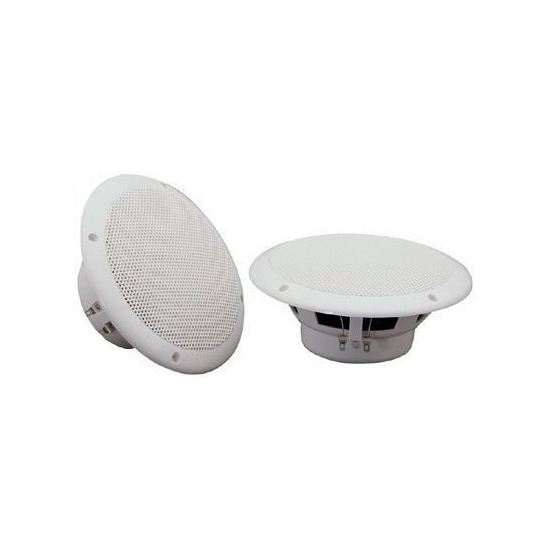 "Water resistant speaker, 145mm (5.75""), 80W max, 8 Ohms, White"