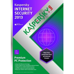 Photo of Kaspersky Internet Security 2013 - (1 License, 1 Year) Software