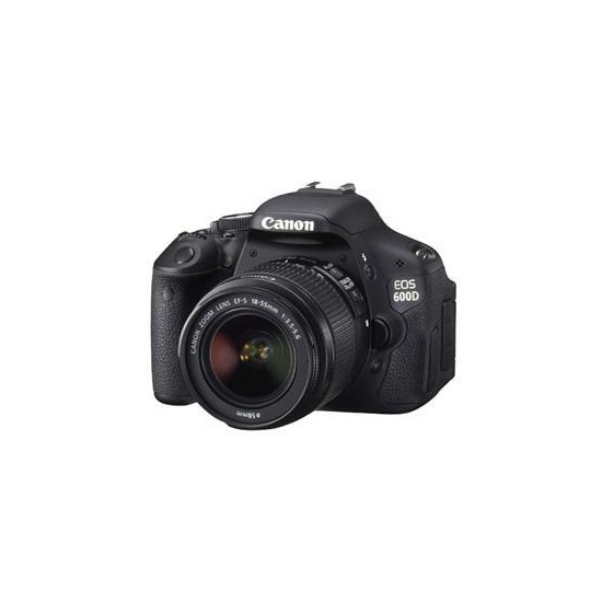 Canon EOS 600D with 18-55mm DCIII Kit
