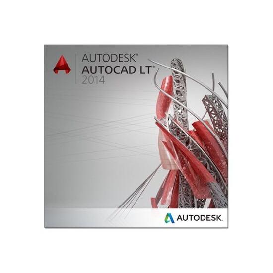 Autodesk AutoCAD LT 2014 Commercial New SLM 5-Pack