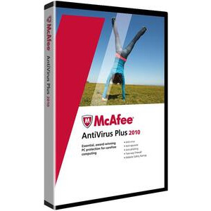 Photo of MC Afee 2010 Anti-Virus & Security Software - 1 User Software