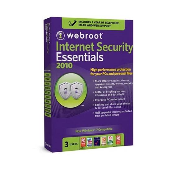 Gem Distribution - Webroot Internet Security Essentials 2010