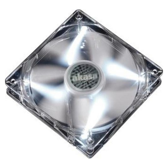 Akasa 12CM LED Fan White