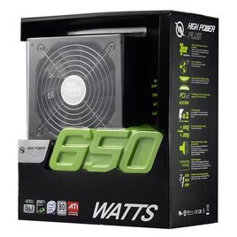 High Power ATX 650W 80+ Reviews