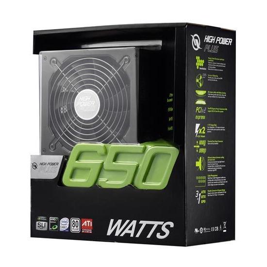 High Power ATX 650W 80+