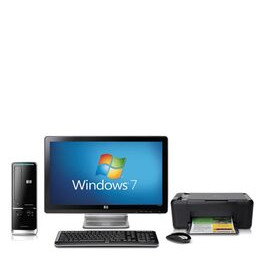 "HP Pavilion Slimline s5206uk-p with 20"" HP monitor and HP All-in-one Printer Reviews"