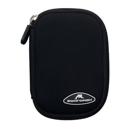 Swordfish Black Neoprene Camera Case SSNCBBK09