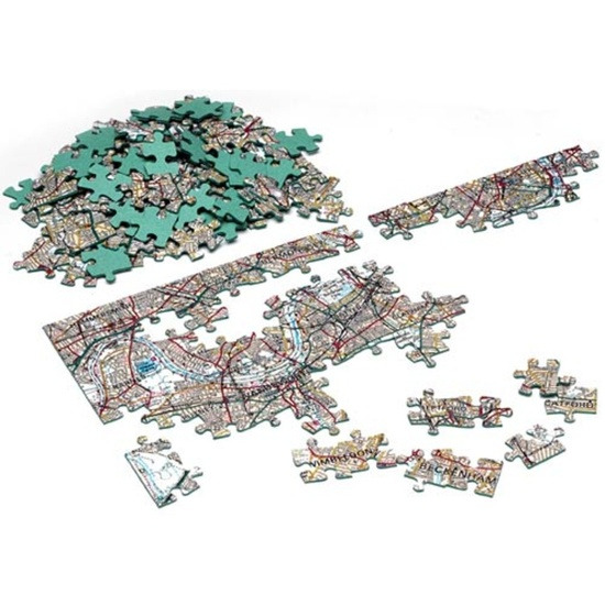 Firebox Postcode Puzzles (London Streetmap 255 pieces)