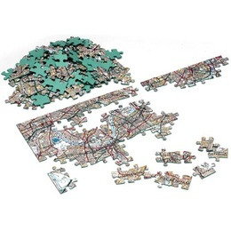 Firebox Postcode Puzzles (Victorian 400 pieces)