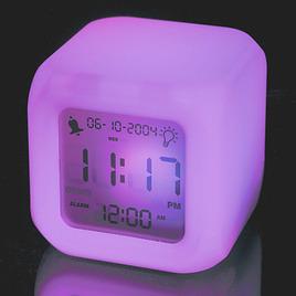 Aurora Colour Changing Clock Nightlight