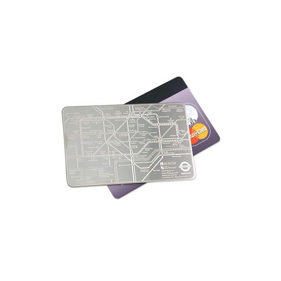 Credit Card Underground Map
