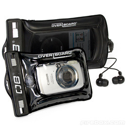 Overboard Waterproof MP3 Case with Earbuds