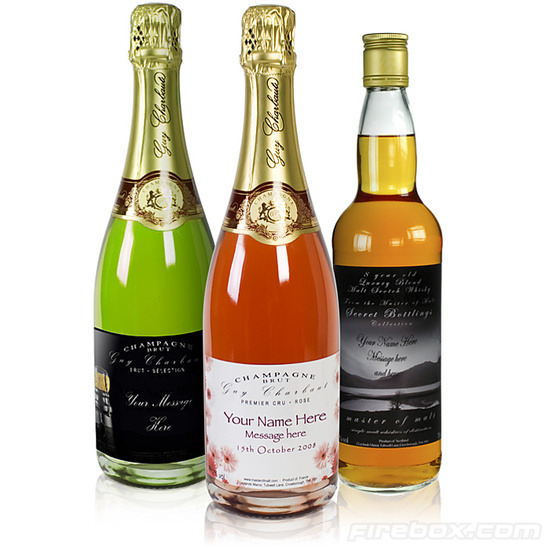 Personalised Champagne - Rose Brut