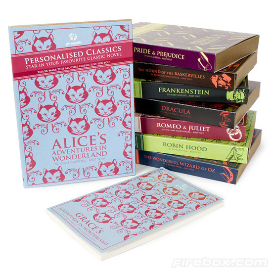 Firebox Personalised Classic Novels (Pride and Prejudice)