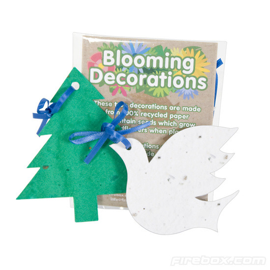 Firebox Blooming Decorations